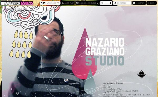 Nazario Graziano - Interview on Newwebpick #25