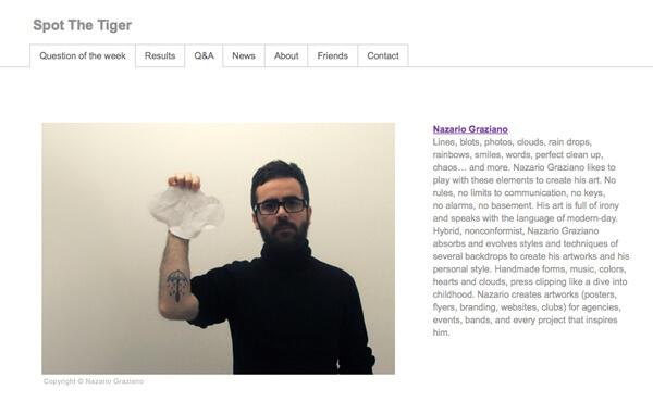 Nazario Graziano - Interview @ Spot the tiger