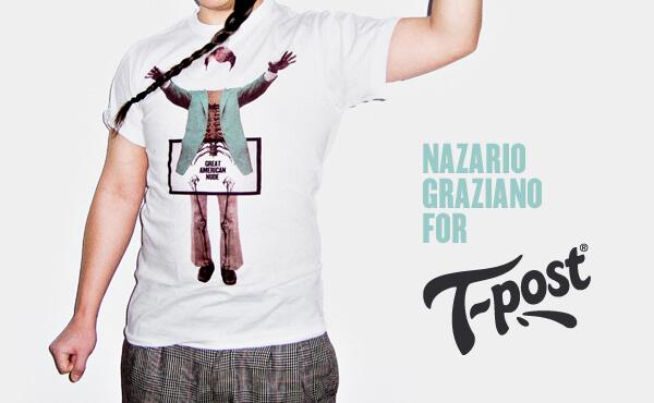 Nazario Graziano - T-shirt for T-post