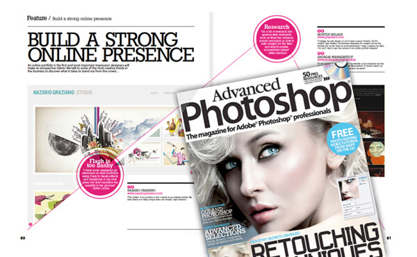 Nazario Graziano - Advanced Photoshop review / interview