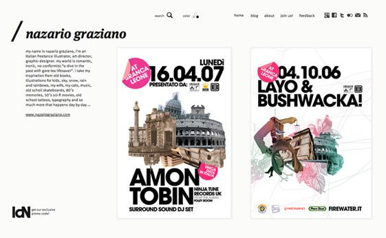 Nazario Graziano - Typo/graphic poster