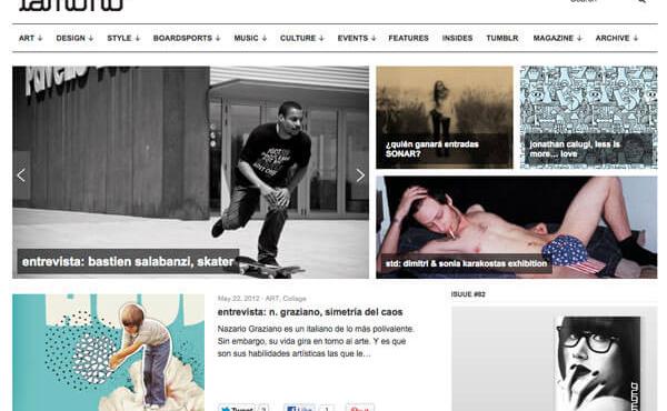 Nazario Graziano - Interview for Lamono