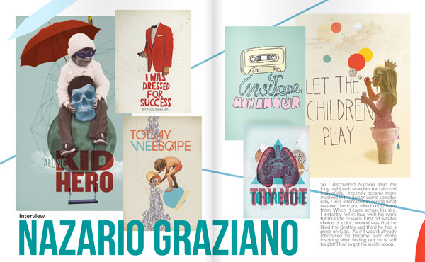 Nazario Graziano - Interview for Artnois (L.A.)