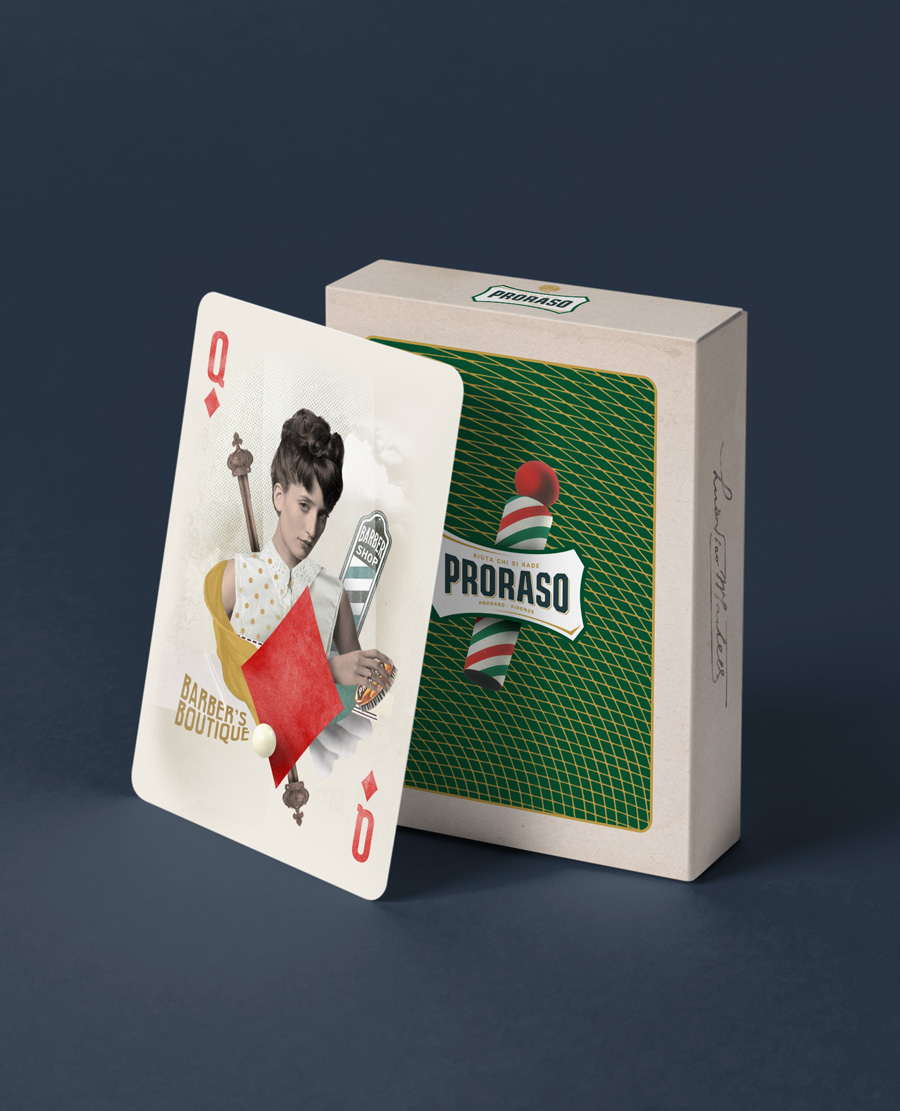 Nazario Graziano - PRORASO – Playing Cards