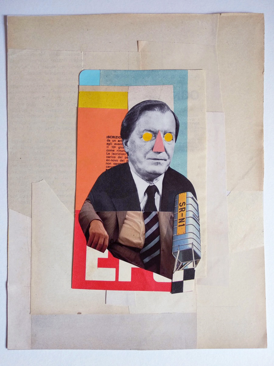 Nazario Graziano - Selected Analog Collages 2018 / 2019